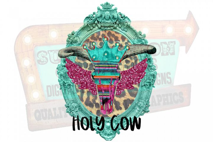 Holy Cow Sublimation Digital Download