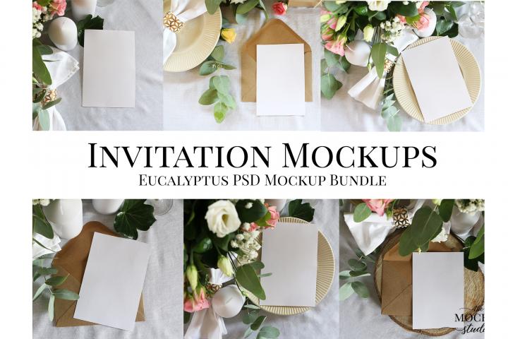 Card Mockup, Wedding Invitation Mockup, Stationary Mockup