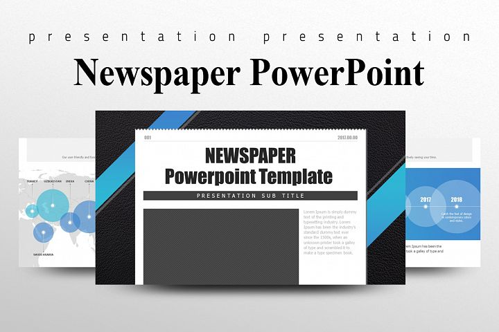 Newspaper Presentation Template