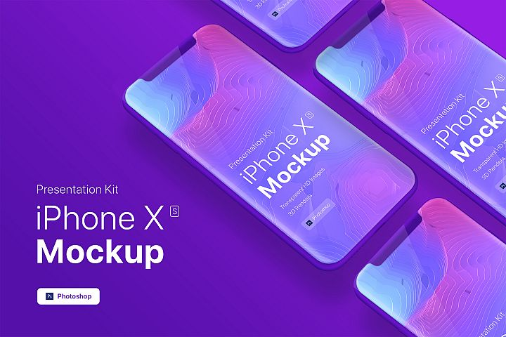 Presentation Kit - iPhone showcase Mockup_v9