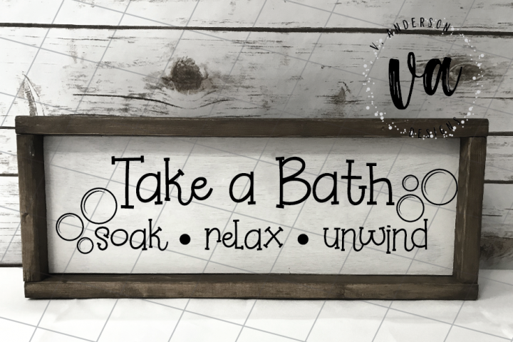 Take a Bath SVG