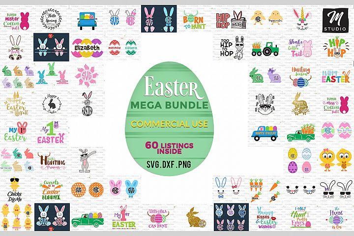 Easter Mega Bundle svg.