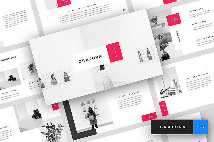 Gratova - Creative Keynote Template