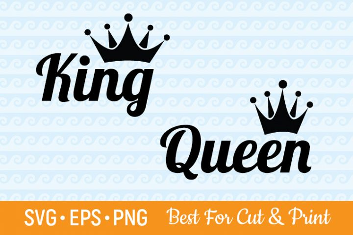 Queen & King Cutting & Printing file