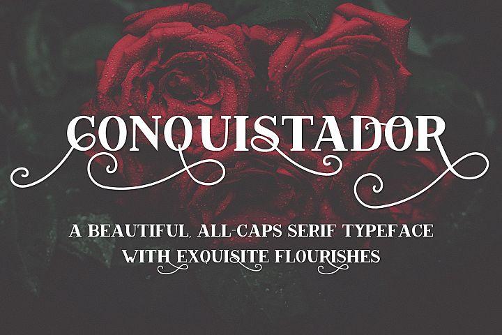 Conquistador Serif Font