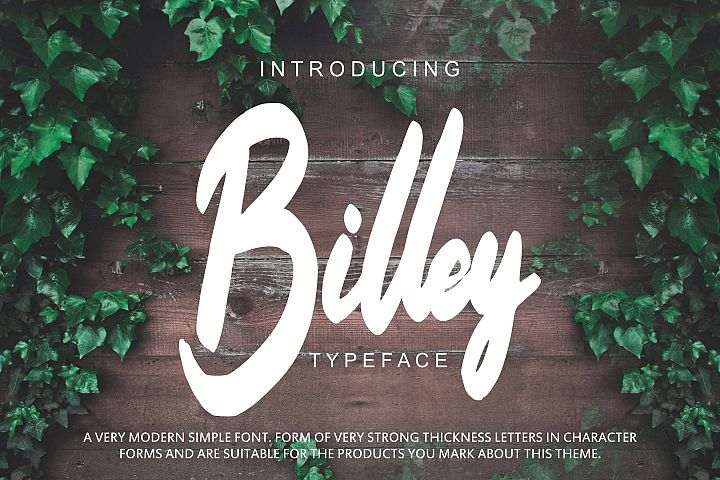 Billey - Handwritten Script