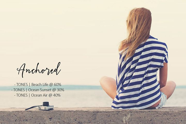Anchored Mini Action Collection example 2