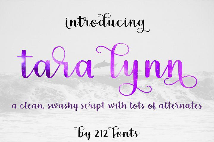 212 Tara Lynn Script Font