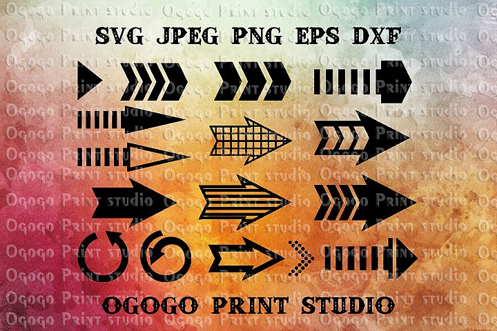 Arrows Svg files, Cricut cut files, Arrows Svg Bundle