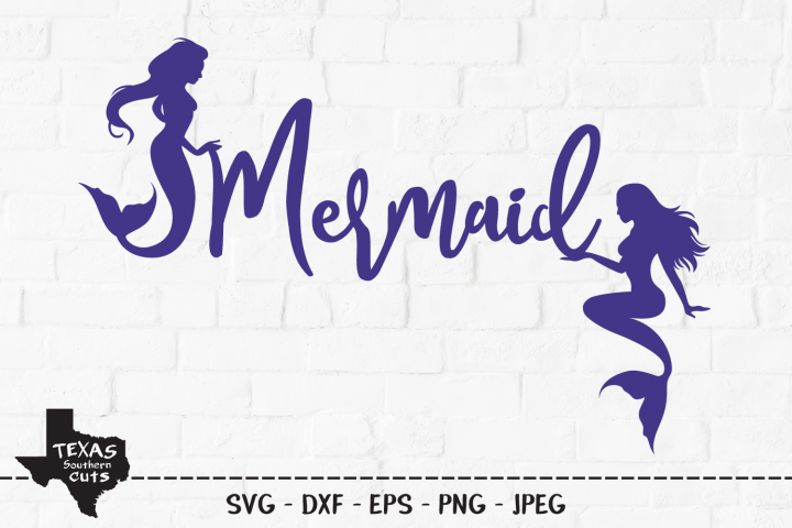 Mermaid SVG, Cut File, Mermaids, Cool Mermaid Shirt Design