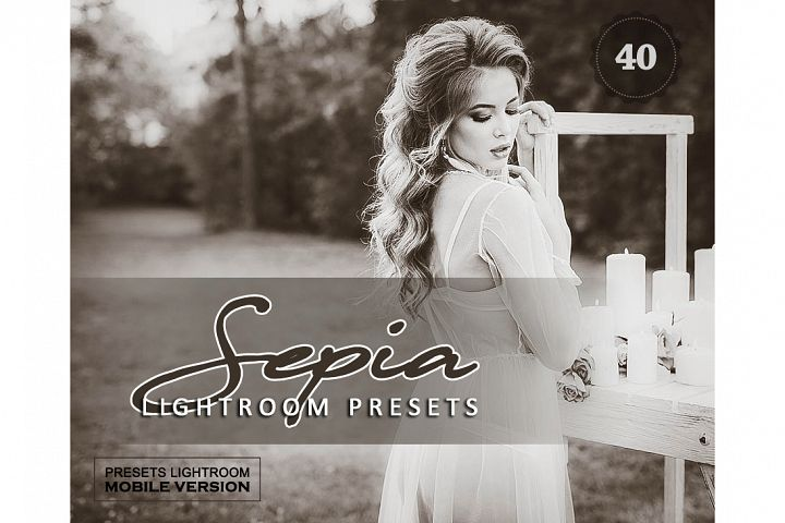 Sepia Sensation Lightroom Mobile Presets