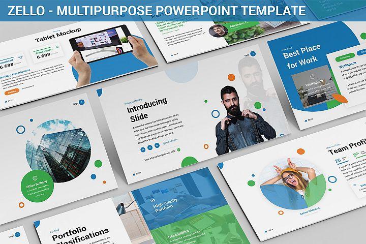 Zello - Multipurpose Powerpoint Template