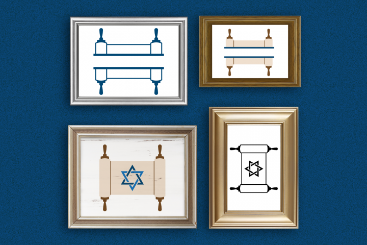 Torah Duo SVG File