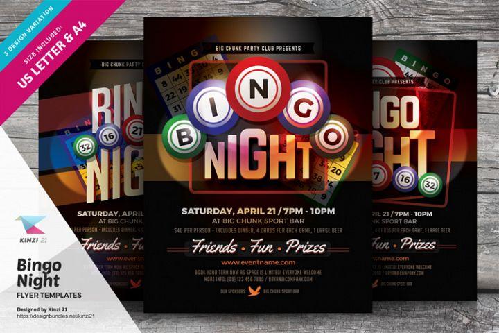 Bingo Night Flyer Templates