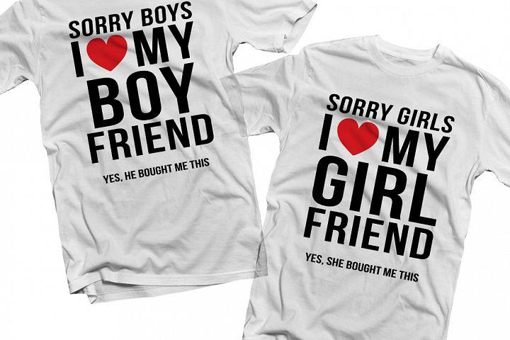 Sorry Boys I love my boyfriend Printable