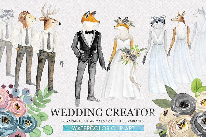 WEDDING CHARACTER CREATOR