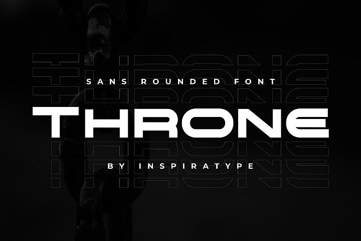 Throne - Rounded Sans Font
