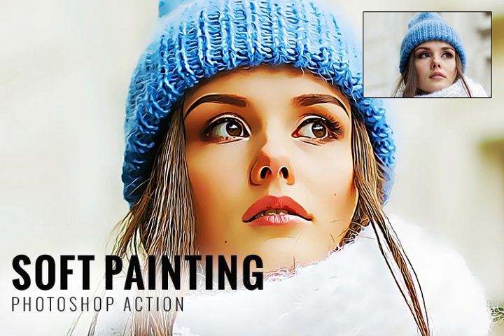 Soft Painting Photoshop Action
