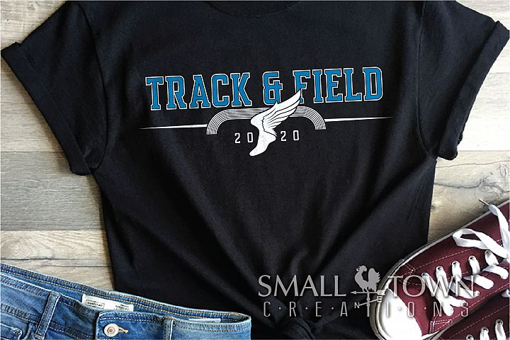 Track and Field, Logo, Team, Sports, PRINT, CUT & DESIGN