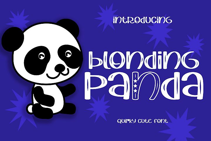 Blonding Panda