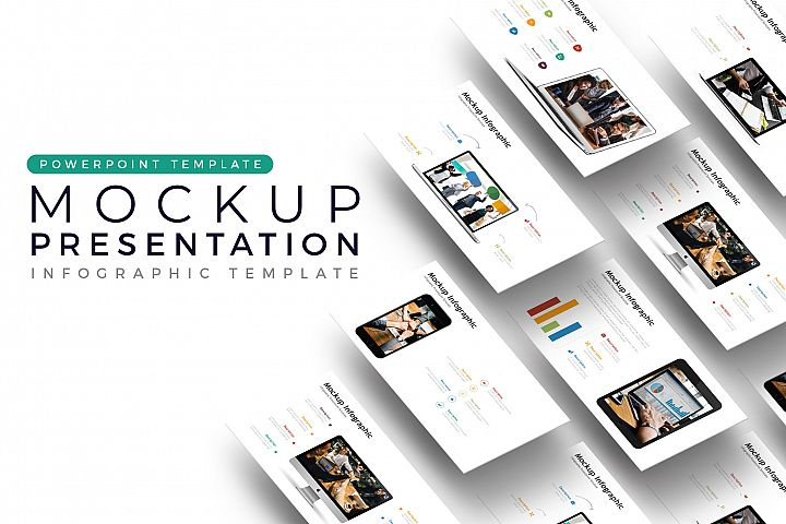Mockup Presentation - Infographic Template