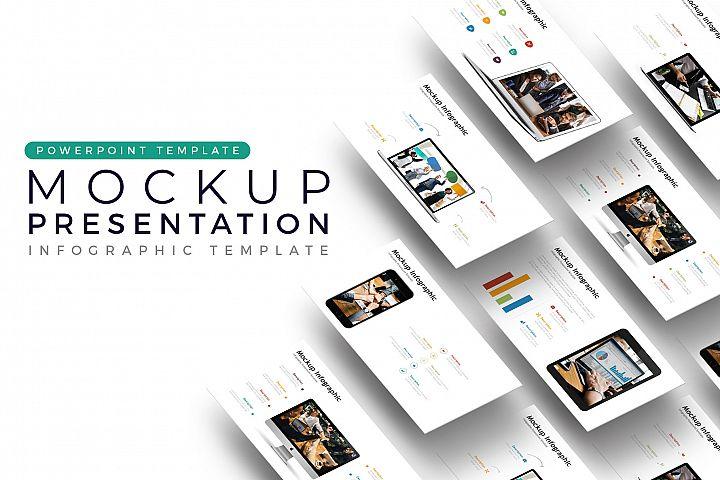 Mockup Presentation - Infographic Template