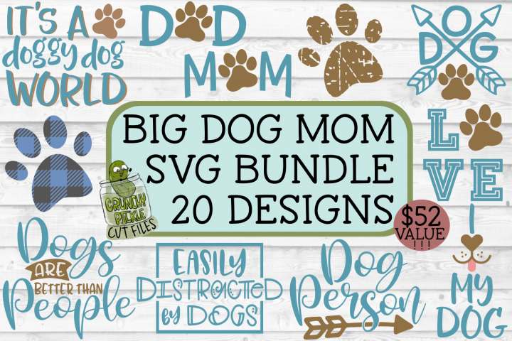 Dog Mom Big SVG Bundle