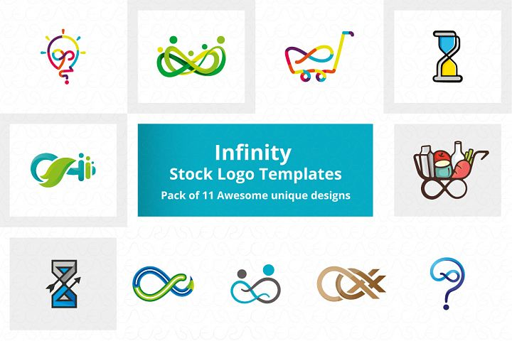 Infinity Stock Logo Templates Pack