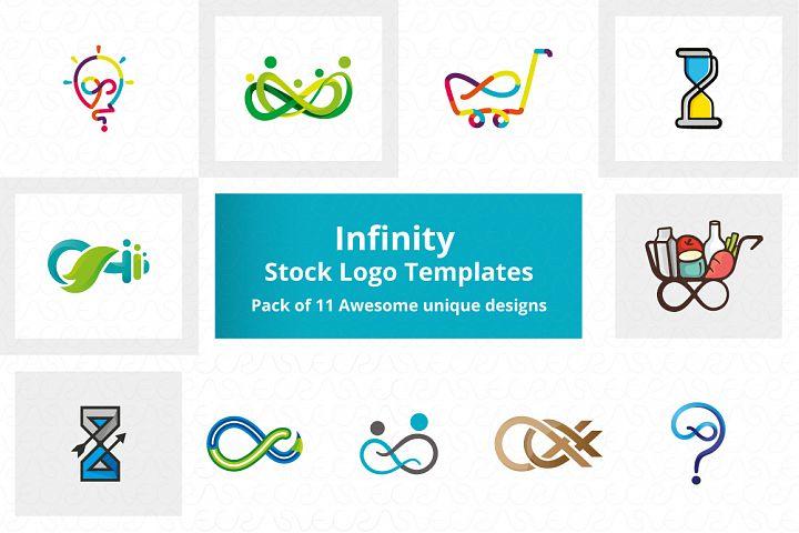 Infinity Stock Logo Templates Pack