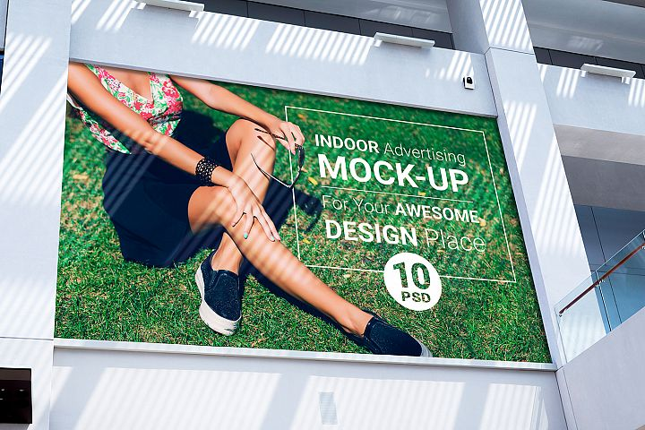 Indoor Advertising Mock-Up