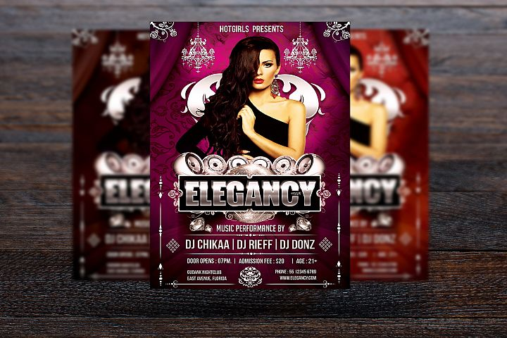 Elegancy Party Flyer