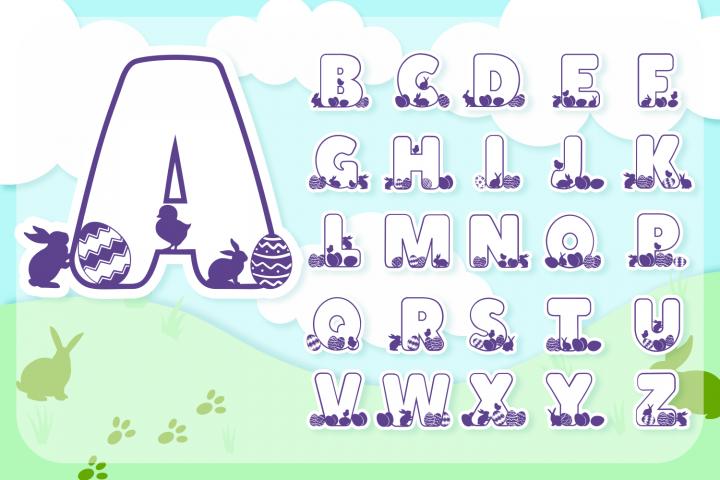 Easter Joy Font Pack | Easter Font for Cricut & Cameo