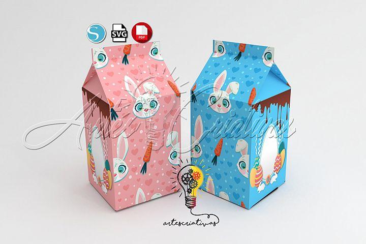easter milk box