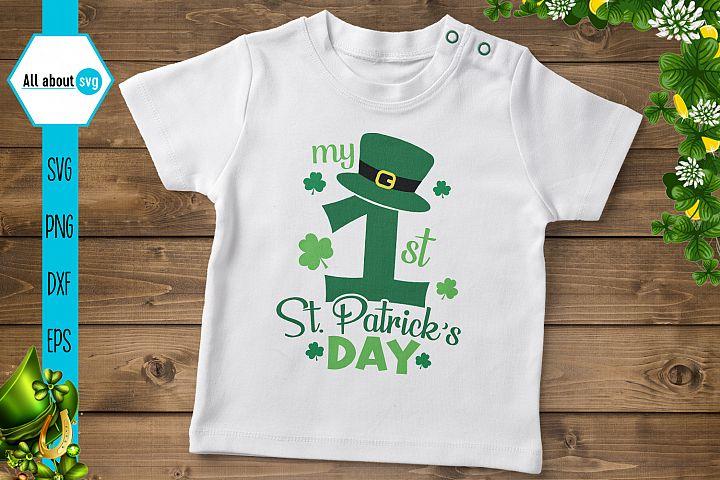 My First St Patricks Day Svg