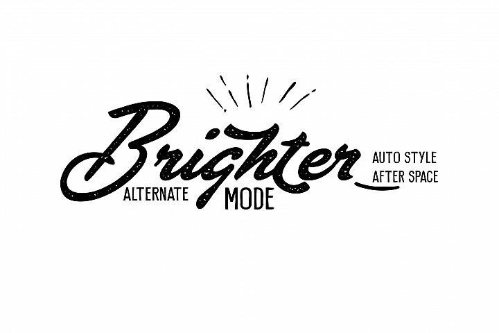 Brighter Script