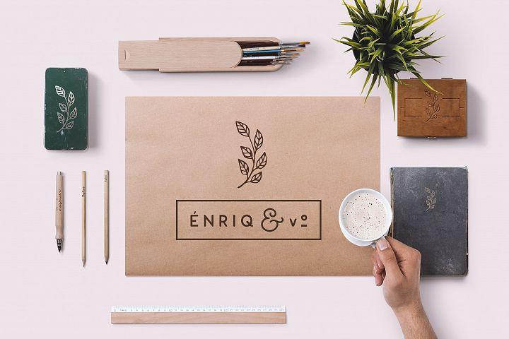 Enrique - 8 Fonts Fashionable Elegant Sans Serif Font example image 10