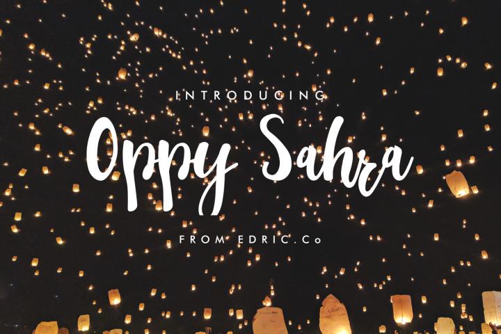 oppy sahra