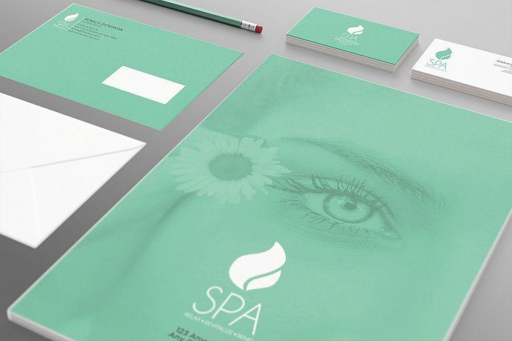 Spa Branding Identity - 15 PSD Templates