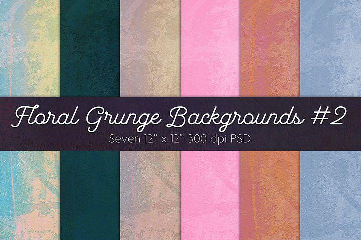 Floral Grunge Background #2