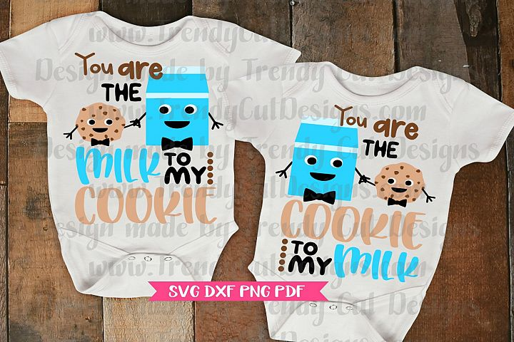 You are the Milk to my Cookie Boy Bundle SVG
