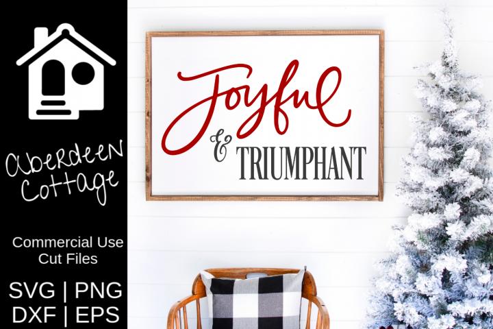 Joyful and Triumphant Design