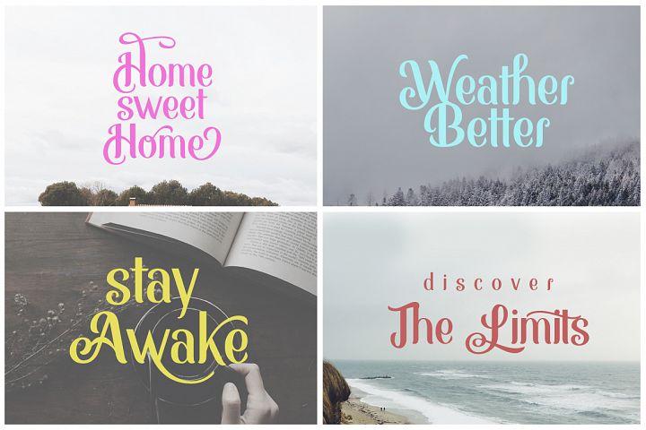 Monabelia Typeface example image 3