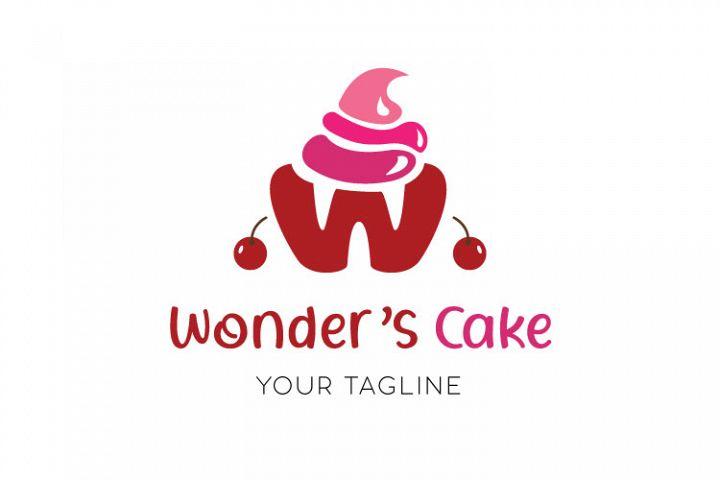 Bakery, Cup Cake Logo Design