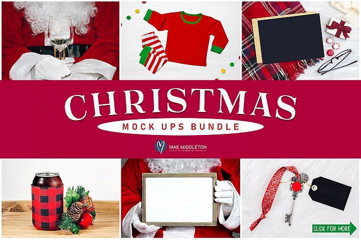 Christmas Mock ups Bundle
