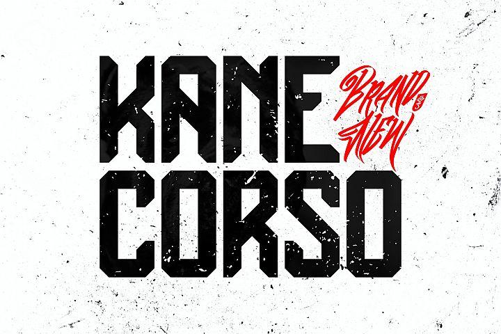 Kane Corso | Block Font