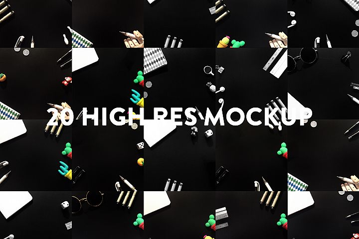 Black Mockup Bundle