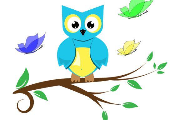 Cute Owl Vectors Svg Dxf Png Jpg Eps vector file Cut Files