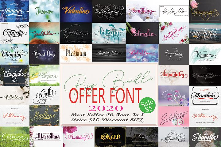 Big Bundle Offer Font