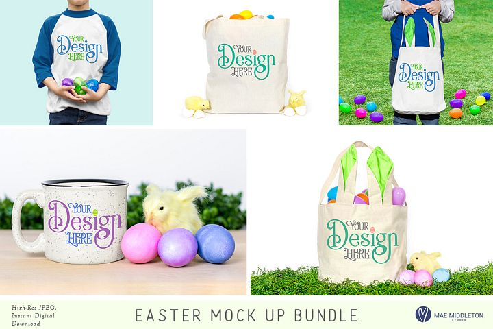 Easter Mock up Bundle
