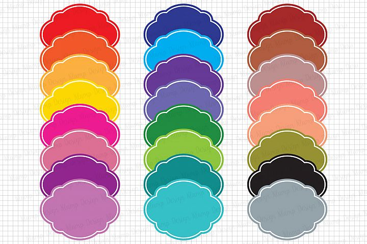 Labels Graphics and Illustrations / Frames Clipart